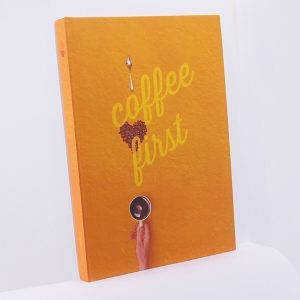 Notebook Perfect Binding - #CoffeeFirst - Rp 60.000