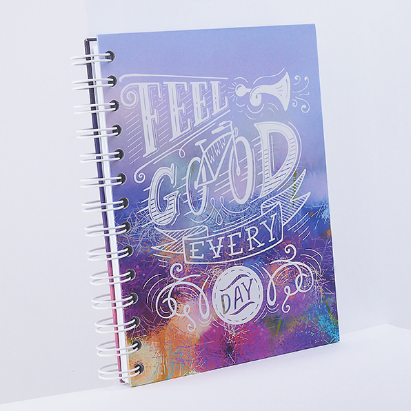 Notebook Wire Binding - #FeelGood - Rp 60.000