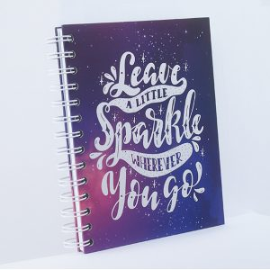 Notebook Wire Binding - #LittleSparkle - Rp 60.000