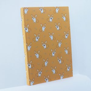 Notebook Perfect Binding - #YellowPuppy - Rp 60.000