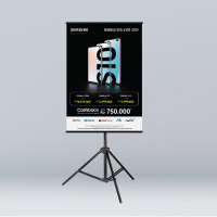 Tripod Banner / Poster